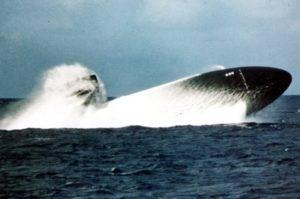 USN submarine EMBT blow